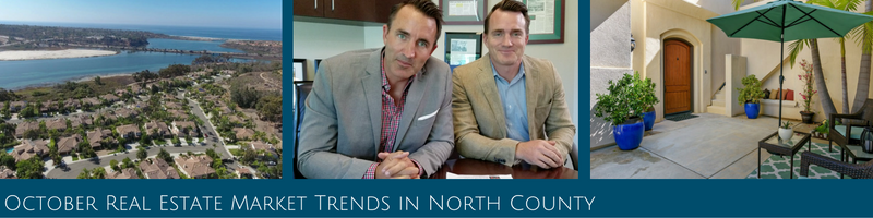 October Real Estate Trends in North County San Diego